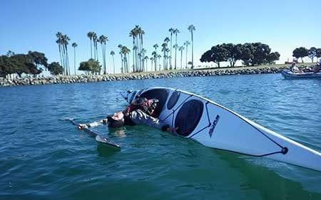 Kayak Roll Lessons Aqua Adventures San Diego