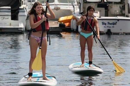 Paddleboard Rentals Aqua Adventures San Diego