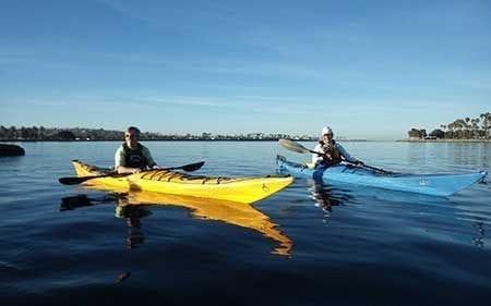 Sea Kayaking 2 Lessons Aqua Adventures San Diego