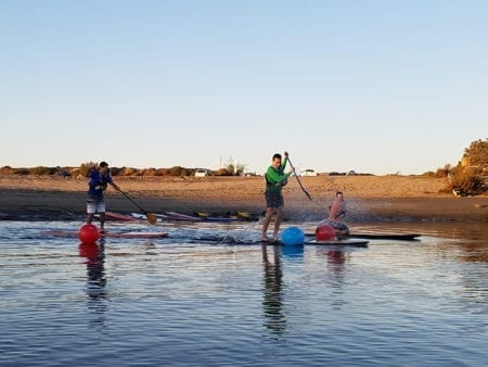 Sup Turns Lessons Flatwater Fasst Pro Paddleboard Aqua Adventures San Diego